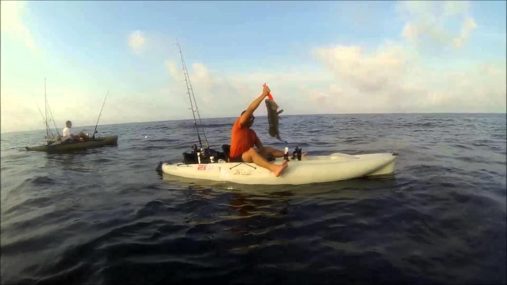 kayak fishing in gulf of mexico