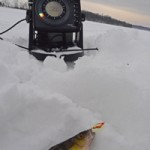 air pressure influencing ice fishing