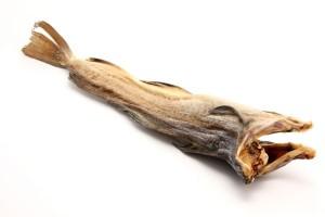 dried salted bakalar